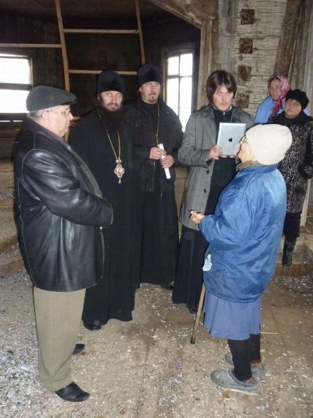 В храме д.Покровка