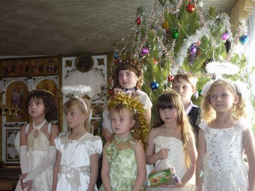 Рождественская елка 2012 в с.Кваркено