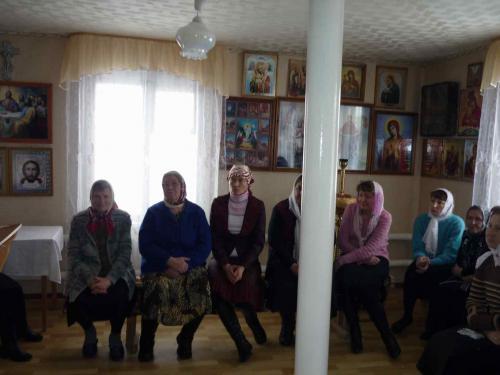 Первое собрание прихода 2012 с.Кваркено