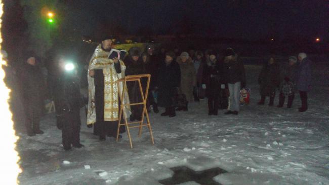 Праздник Крещения Господнего в Кваркено
