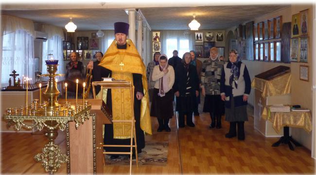 Молебен в Кваркено по случаю четвертой годовщины интронизации Патриарха Кирилла
