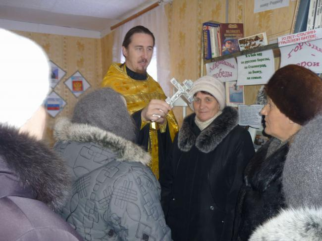 Молебен в деревне Покровка Кваркенского района