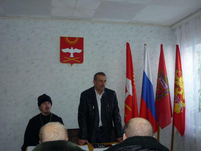 Учредительное собрание Кваркенского хуторского казачьего общеста