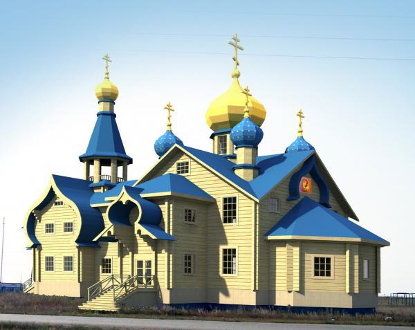Будущий храм в Кваркено