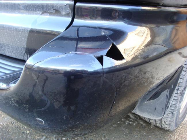 Doodge Caravin - до ремонта бампера