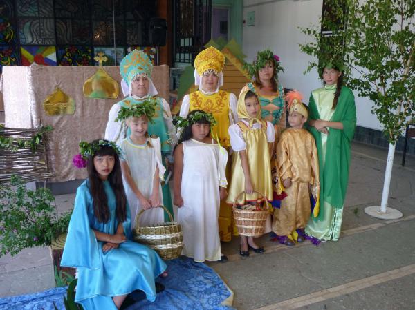 Участники праздника в Кваркено