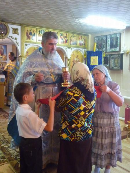 Престольный праздник в Кваркено