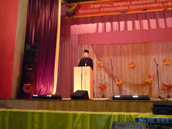 Выступление на конференции священника Владимира Бабака